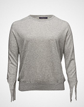 Violeta by Mango Bow Wool-Blend Sweater