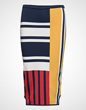 Tommy Hilfiger Viscose Patchwork Pencil Skirt Gigi Hadid