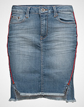 Hilfiger Denim Thdw Denim Twisted Skirt Piping Crb