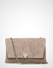 Decadent Big Clutch With Buckle And Chain