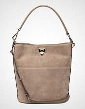 Decadent Big Bucket Bag W/Buckle