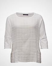 Violeta by Mango Textured Cotton T-Shirt