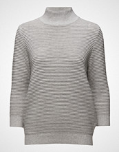 Selected Femme Sflaua 3/4 High Neck Knit Pullover Ex