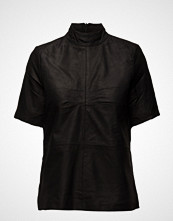 Selected Femme Sfjone Ss Leather Top