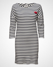 Scotch & Soda 3/4 Sleeve Sweat Dress With Button Details