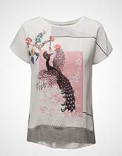 Saint Tropez T-Shirt W. Front Print