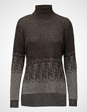 Saint Tropez Roll-Neck Shimmer Sweater
