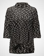 Saint Tropez Knit Blouse With Lurex Pattern