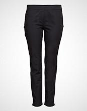Violeta by Mango Slim-Fit Cotton Trousers