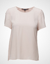French Connection Classic Crepe Lght Ss Pleat