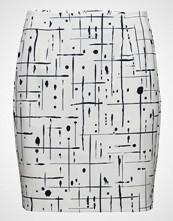 Gant G1. Grid Drip Printed Skirt