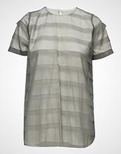 Cathrine Hammel Striped Tulle Tee-Shirt