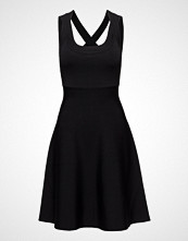 T by Alexander Wang Dull Rayon Knit Low Neckdouble Strap Dress