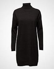Maison Scotch Knitted Lurex Blend Turtleneck Dress