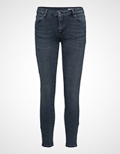 2nd One Nicole 106 Zip, Smoke Blue, Jeans