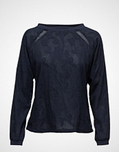 Coster Copenhagen Long Sleeve Cotton Jacquard Top