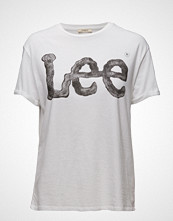 Lee Jeans Logo Tee White