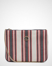 Tommy Hilfiger Honey Flat Crossover Canvas Stripe