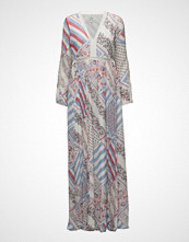 Tommy Hilfiger Pure Silk Printed Maxi Dress Gigi Hadid