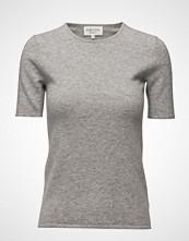 Davida Cashmere T-Shirt T-shirts & Tops Short-sleeved Grå DAVIDA CASHMERE