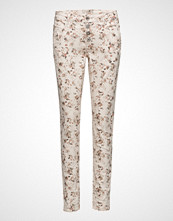 Cream Daniela Pants - Bailey Fit
