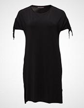 Violeta by Mango Knot Detail Contrast Dress