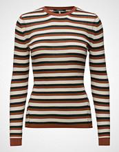 Scotch & Soda Merino Wool Rib Knit Top With Contrast Details