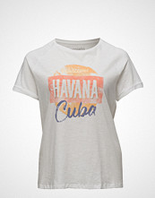 Violeta by Mango Printed Cotton T-Shirt