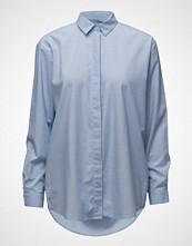Samsøe & Samsøe Caico Shirt 6135 Langermet Skjorte Blå SAMSØE & SAMSØE