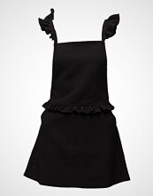 Mango Ruffled Pinafore Dress