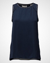 Scotch & Soda Sleeveless Silky Feel Top With Ladder Inserts