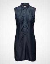 Hilfiger Denim Thdw Tencel Dnm Shirt Dress S/L 23