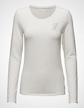 Tommy Hilfiger Lizzy Logo Round-Nk Top Ls