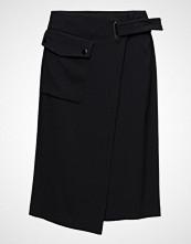 Filippa K Wrap Pocket Crepe Skirt