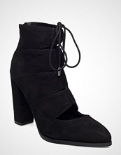 Bianco Laced Up Boot
