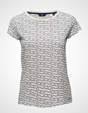 Gant O1. Alloverprinted T-Shirt Ss