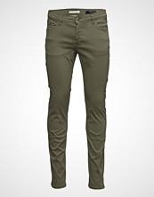 Mango Man Slim-Fit 5 Pocket Garment-Dyed Trousers