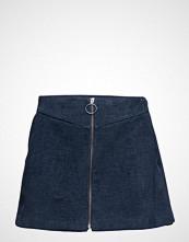 Mango Zipped Cotton Skirt