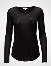 Dagmar Eli T-shirts & Tops Long-sleeved Svart DAGMAR