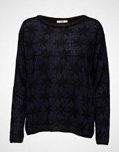 Stig P Migs Long Sleeve Knit With Star Intarsia