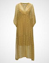 Rabens Saloner Gold Line Long Slv. Dress