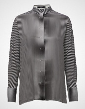 Mango Striped Flowy Shirt