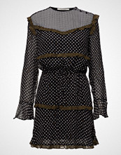 Scotch & Soda Viscose Mixed Print Dress With Ruffle Details