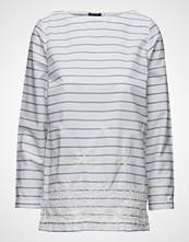 Gant Yc. Embroidered Stripe Top