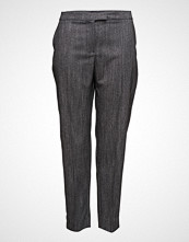 Violeta by Mango Flecked Cotton Trousers