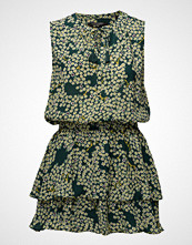 Scotch & Soda Silky Feel Sleeveless Printed Summer Dress With Double Layer