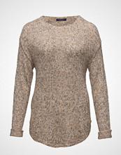 Violeta by Mango Flecked Linen-Blend Sweater