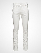 Mango Man Slim-Fit White Jan Jeans