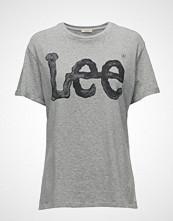 Lee Jeans Logo Tee Grey Mele