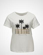 Violeta by Mango Message Cotton T-Shirt